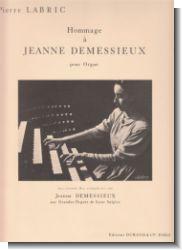 Hommage � Jeanne Demessieux