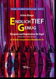 Runge, Kleines Choralbuch für Einsteiger Heft 3
