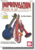 Improvisation - Bridging the Gap (+CD) : treble clef edition