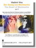 Der Zwerg von Montmartre op.8 : f�r 3 Fl�ten (1. auch Piccolo) und Altfl�te in G (Partitur und Stimmen)