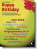 Happy Birthday - Humoristische Variationen im Stil gro�er Meister f�r Klavier