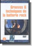 Grooves et techniques de la batterie rock (frz) : DVD-Video
