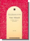 9 Villanelle - For 3 Voices Or Instruments (Score)