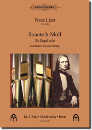 Liszt, Sonate h-Moll (Ped.)