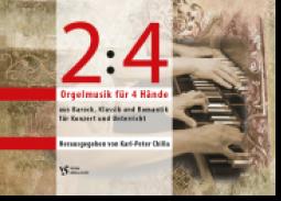 2 : 4 - Orgelmusik für 4 Hände