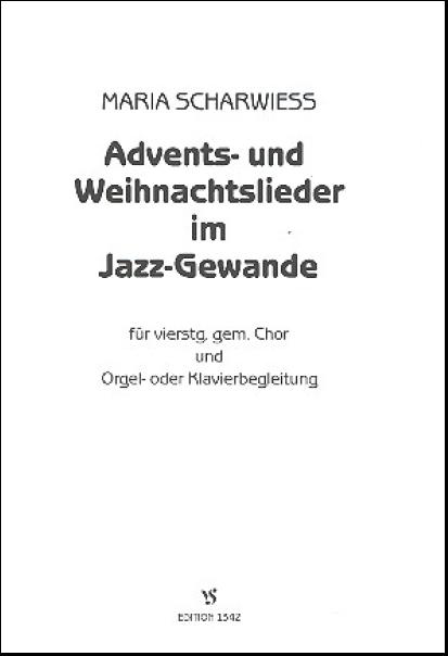 Weihnachtslieder Jazz Noten.Scharwieß Maria 1942 Advents Und Weihnachtslieder Im Jazz