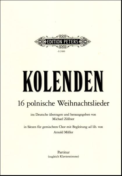Polnische Weihnachtslieder Texte.Kolenden 16 Polnische Weihnachtslieder Partitur Bodensee