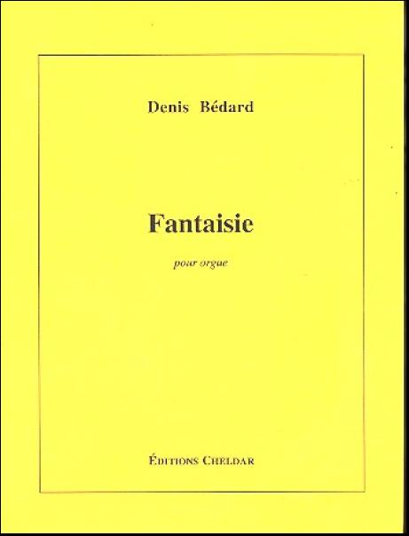 Bédard, Denis (1950) Fantaisie pour orgue Bodensee