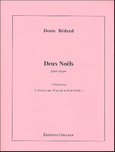 Deux Noëls pour orgue Bodensee Musikversand