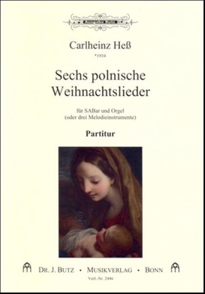 Polnische Weihnachtslieder Texte.Heß Carlheinz 1934 6 Polnische Weihnachtslieder Für Gem Chor