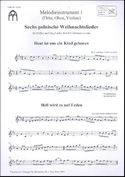 Polnische Weihnachtslieder Texte.Heß Carlheinz 1934 2016 6 Polnische Weihnachtslieder Für Gem